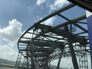 參與澳門金融界舉辦參觀珠港澳大橋3