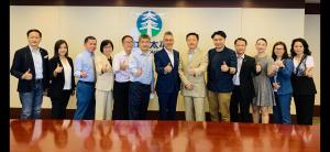 拜訪中國太平保險新任董事總經理宮峰元先生